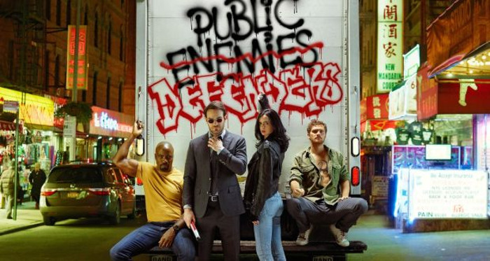 le migliori serie tv sui supereoi - the defenders