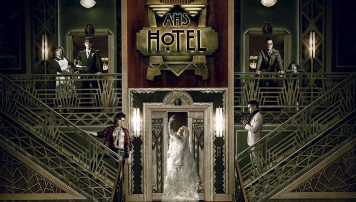 American Horror Story Hotel - migliori serie tv ambientale in hotel