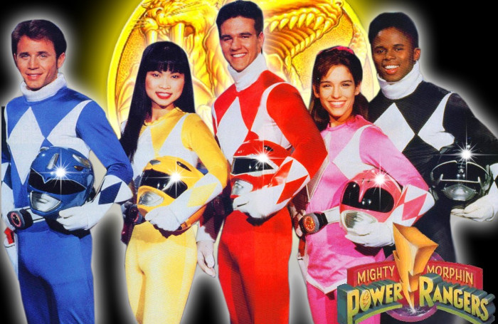 migliori serie tv sui supereroi vintage - Power Rangers