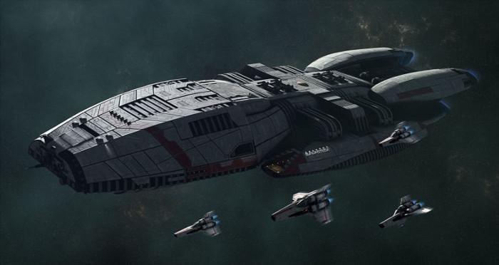 Battlestar Galactica - Migliori serie tv di fantascienza