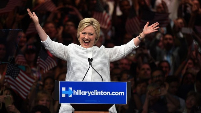 hillary clinton serie tv